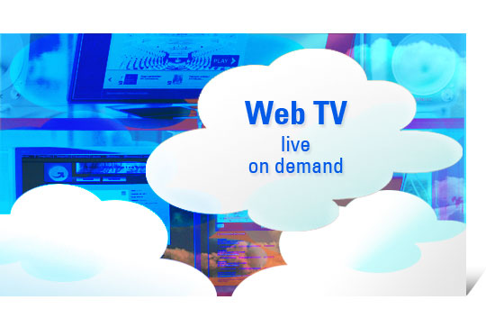 Web TV in Cloud Computing